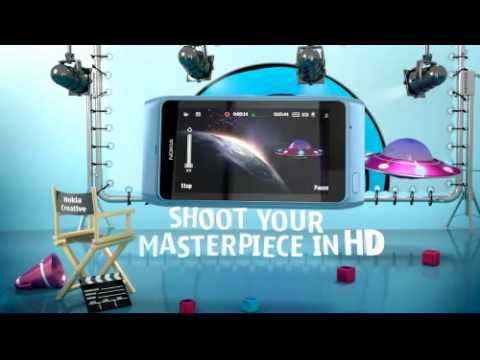 NOKIA N8 MOBILE CELL PHONE COMMERCIAL PROMO ADVERT DEMO PREVIEW