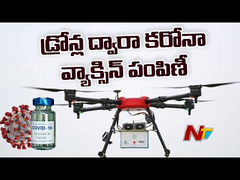 Telangana govt to use drones for delivery of covid vaccines