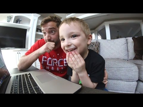 5 Year Old / TRY NOT TO LAUGH CHALLENGE!