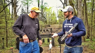 Forcing Hickok to review Guns he's uncomfortable with...