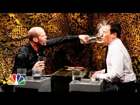 Water War with Jason Statham - The Tonight Show Starring Jimmy Fallon  - 9aHpZKXC4q8 -