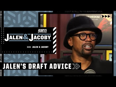 Jalen Rose's advice for 2021 NBA draft prospects | Jalen & Jacoby YouTube exclusive