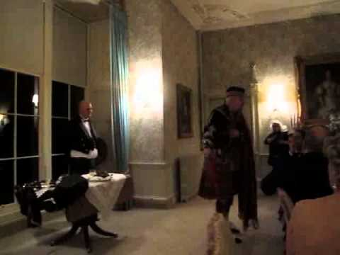 Address to a Haggis - Guthrie Castle - Angus - Piper Steven Dewar, Scotia Pipers
