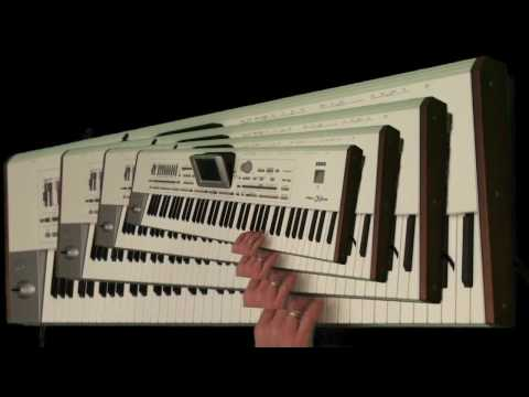 Oxygene 2 Jean Michel Jarre cover live with PA2X