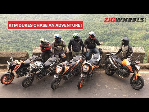 KTM 125, 200, 250, 390, 790 Duke On A Road Trip To Meet The 390 Adventure