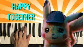 HOW TO PLAY - The Turtles - Happy Together (Piano Tutorial Lesson)