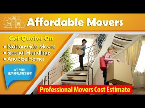 Professional Movers Cost Estimate | Get 7 FREE Moving Estimates & Save Up To 35%