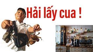 Hiệp sĩ Nguyễn Thanh Hải được tặng nguyên quán cà phê và 3 kí cua biển II ĐỘC LẠ BÌNH DƯƠNG