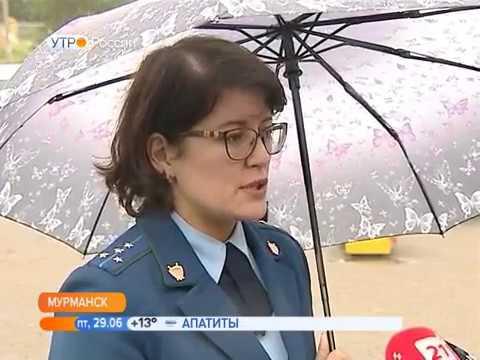 В Ленинском округе Мурманска игровые комплексы осмотрела прокуратура, специалисты администрации и УК
