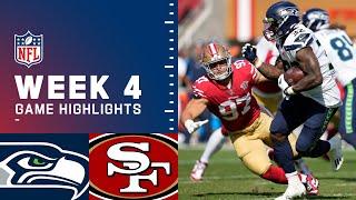 Seahawks vs. 49ers Week 4 Highlights | NFL 2021