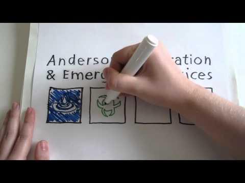 Anderson Restoration & Emergency Services Logo