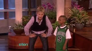 Ellen tube: amazing basketball kid