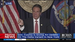 Cuomo Announces Vaccine, Testing Mandate For Transit Workers
