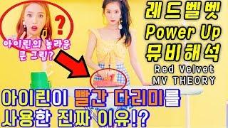 [레드벨벳 Power Up 뮤비해석] 아이린이 빨간 다리미를 사용한 진짜 이유!? Red Velvet 파워업 궁예 MV Theory l 수다쟁이쭌