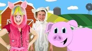 Old MacDonald Had a Farm | Animal Sounds | Kids Nursery Rhymes