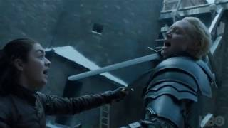 Game of Thrones: Season 7 Episode 4: Brienne and Arya (HBO)