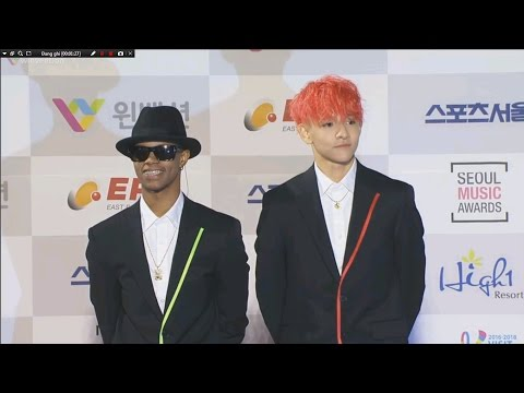 [Red Carpet] 170119 Punch & Silento & Brave Girls - 26th Seoul Music Awards
