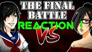 Reaction to Yandere Simulator the final rap battle !