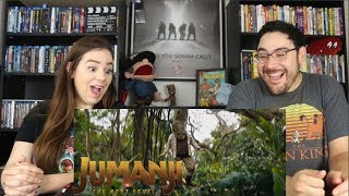 Jumanji THE NEXT LEVEL - Official Trailer Reaction / Review