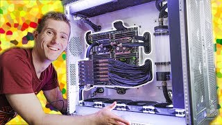 We FINISHED the $100,000 PC! - 6 Editors 1 CPU Pt. 6