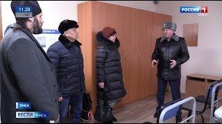 В Омске торжественно открыли изолированный участок, функционирующий как исправительный центр УФСИН