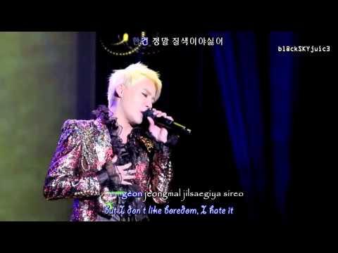 Kim Junsu (XIA) - I am Music LIVE [ han / rom / eng sub]