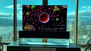 First look at LG's new  OLED R - the world's first rollable TV
