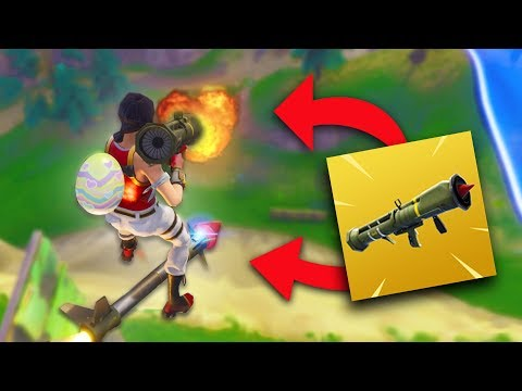 CAN YOU SHOOT A GUIDED MISSILE WHILE ROCKET RIDING?! | Fortnite Battle Royale