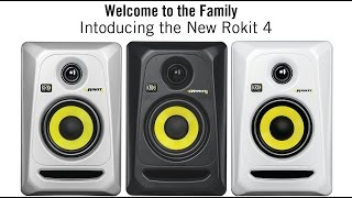 KRK ROKIT 4 G3  STUDIO MONITOR in action