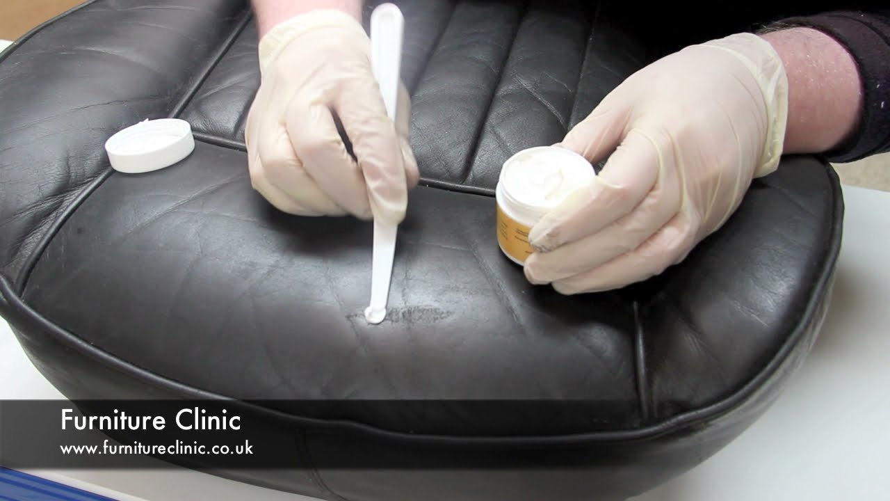 Repairing Scratches Amp Scuffs In Leather Youtube