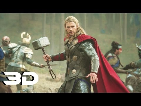 Thor:The Dark World - Official Trailer In 3D (2013) Marvel