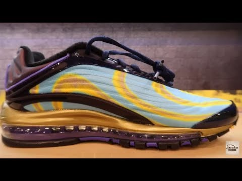 video Nike Air Max Deluxe Black/ Black-Midnight Navy