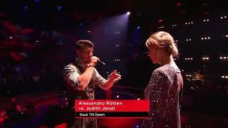ZAYN - Dusk Till Dawn (Alessandro Rütten vs. Judith Jandl ) Battles The Voice Germany 2018