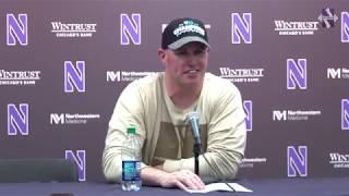Football - Iowa Postgame: Pat Fitzgerald (11/10/18)