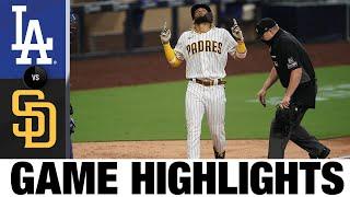 Padres smash three homers vs. Dodgers | Dodgers-Padres Game Recap 8/3/20