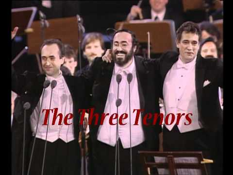 indieFilmNet presents The Three Tenors Concert