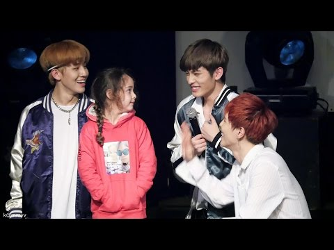 170115 Paris 24K 투포케이 진홍 with a little girl