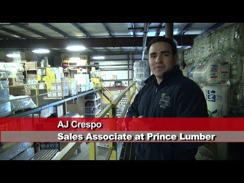 Prince Lumber AJ Crespo: Hurricane Sandy Support