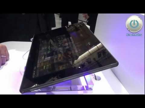 MWC 2013: ультратонкий и легкий планшет Sony Tablet Z
