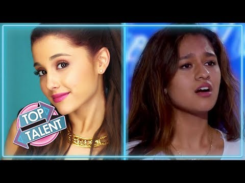 TOP ARIANA GRANDE Covers   Featuring Alyssa Raghu, Lauren Murray and more!   Top Talent