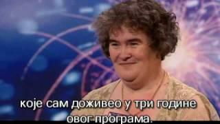 Susan Boyle - I Dreamed a Dream [HQ] (full, srpski)