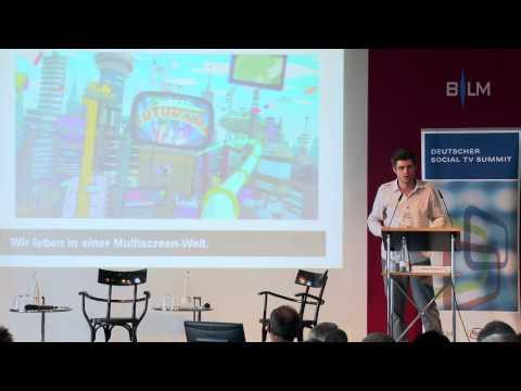 Vortrag: Janko Röttgers - Wohin entwickelt sich Social TV?