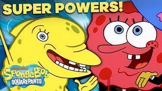 EVERY SpongeBob Superpower! ⚡️ SpongeBob SquarePants