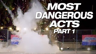 The Most Explosive And Dangerous Auditions - America's Got Talent 2018