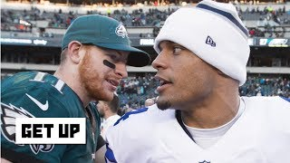 Dak Prescott wants Carson Wentz money - Jeff Darlington | Get Up