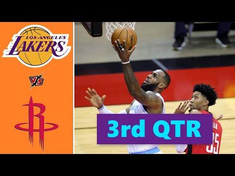 Los Angeles Lakers vs. Houston Rockets Full Highlights 3rd Quarter | NBA Season 2021