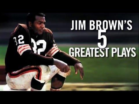 Jim Brown's Top 5 Runs