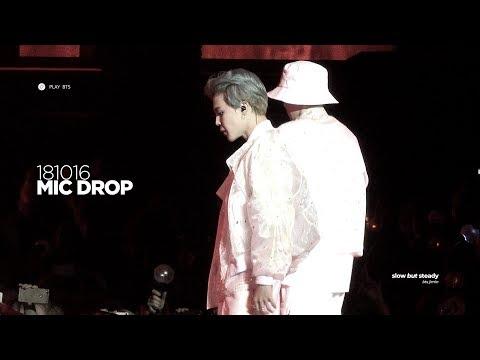 181016 방탄소년단 지민 (BTS JIMIN) - MIC DROP (JIMIN FOCUS 4K fancam)