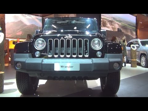 @Jeep #Wrangler Unlimited 75th Anniversary 3.6 V6 Pentastar (2017) Exterior and Interior in 3D