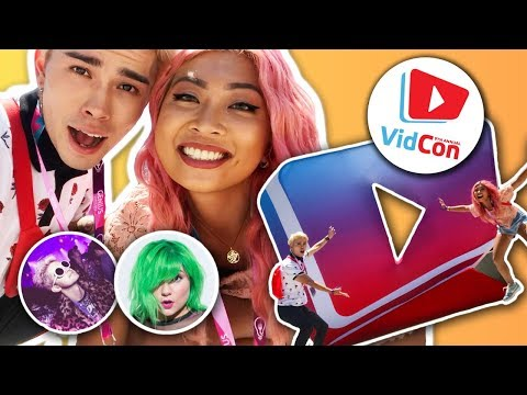 WHAT IT'S LIKE AT VIDCON 2018! FT. CLOUDTALK + JACI BUTLER *so many things happened*